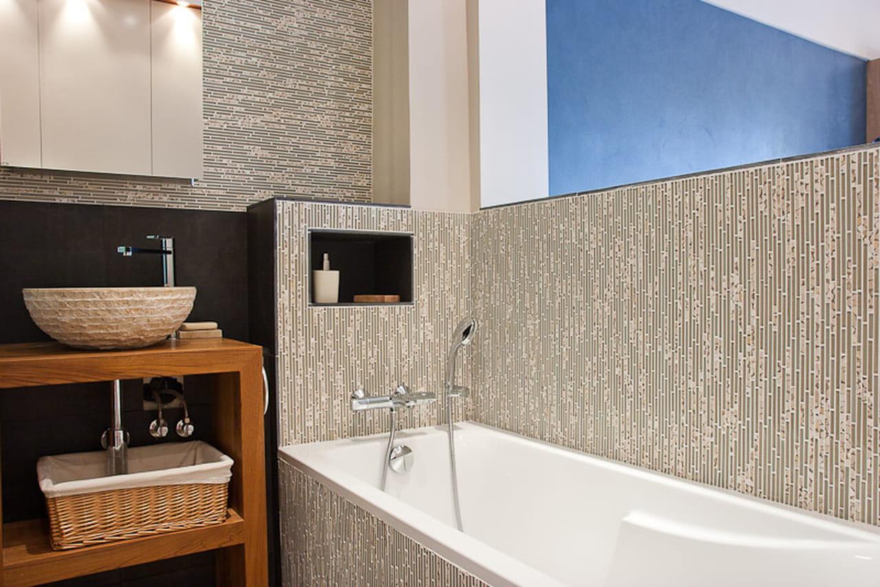 un piccolo loft dall 39 arredo zen. Black Bedroom Furniture Sets. Home Design Ideas