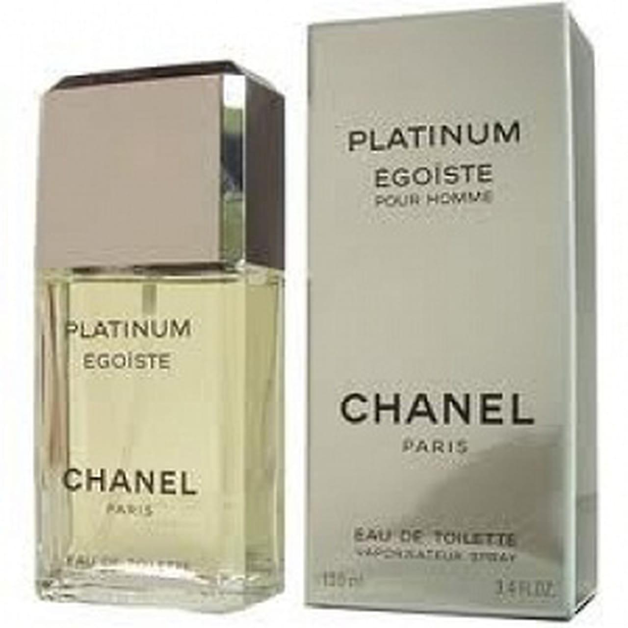 c435903af 2- Chanel Egoiste Platinum Eau De Toilette