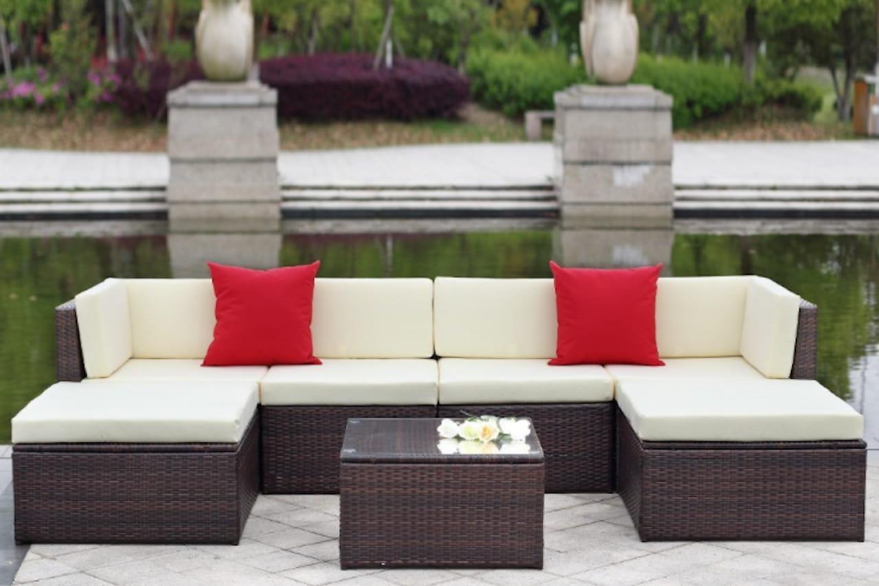 Divani per esterno salotti da giardino for Divani da terrazzo