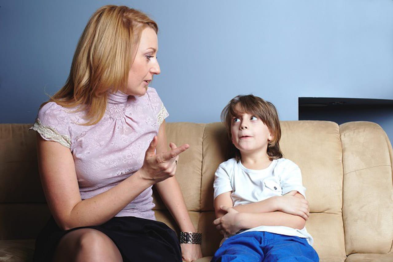 تربوية للتخلص الكذب طفلكِ