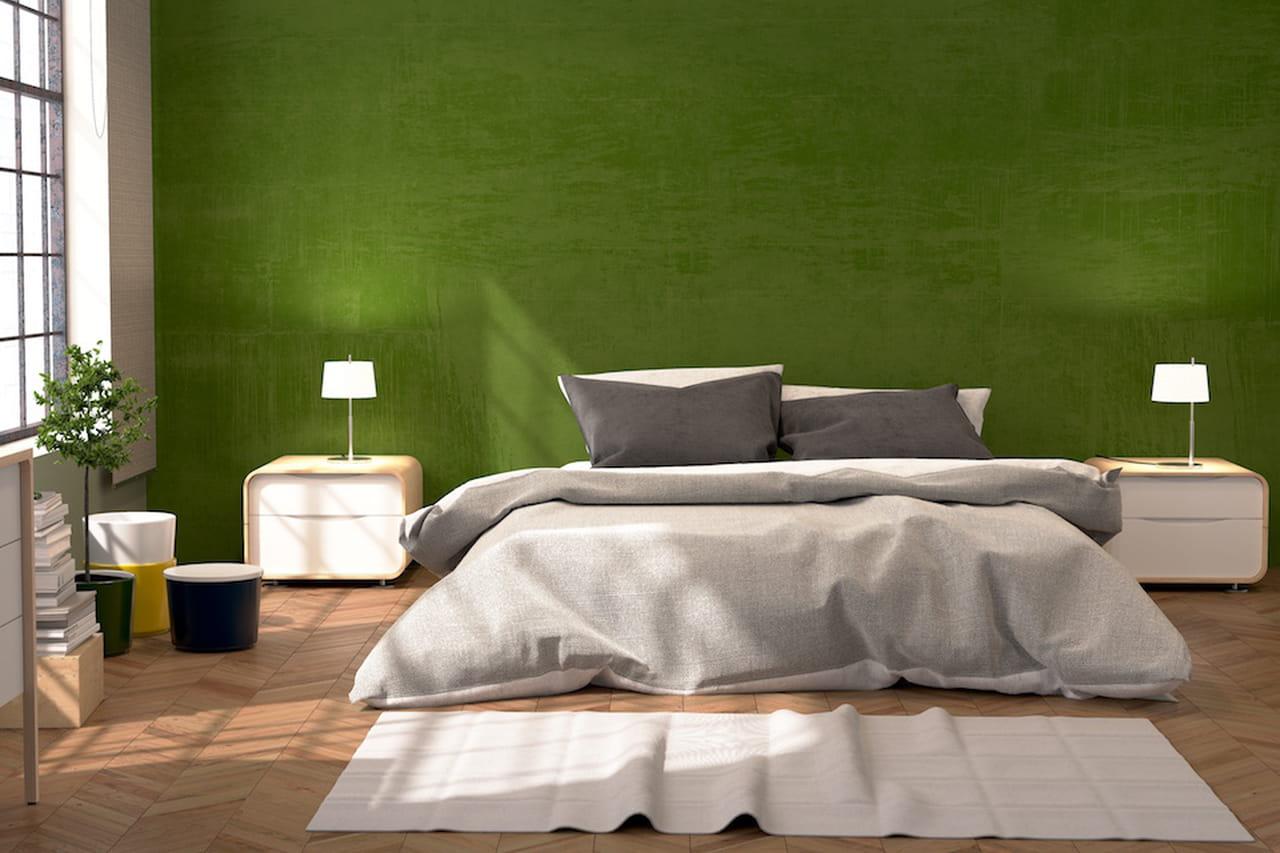 Camera Da Letto Verde Smeraldo : Colori freddi verde e blu per case extra chic