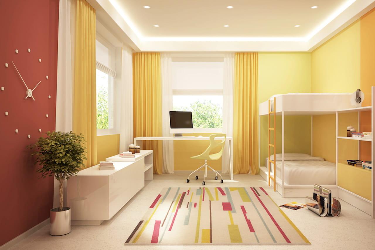 amazing pareti camerette colori pastello per tutti i bimbi with pittura per cucina colori