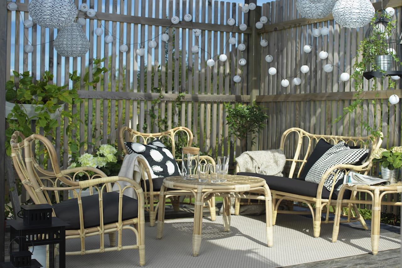 Ombrelloni ikea ombrellone con soffietto antivento sol - Ombrelloni giardino ikea ...