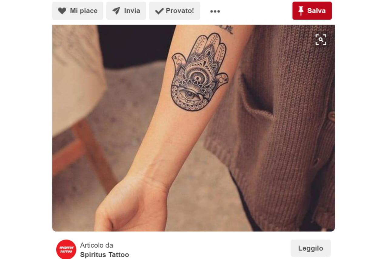 Favorito Tatuaggi portafortuna: tutti i simboli YP38