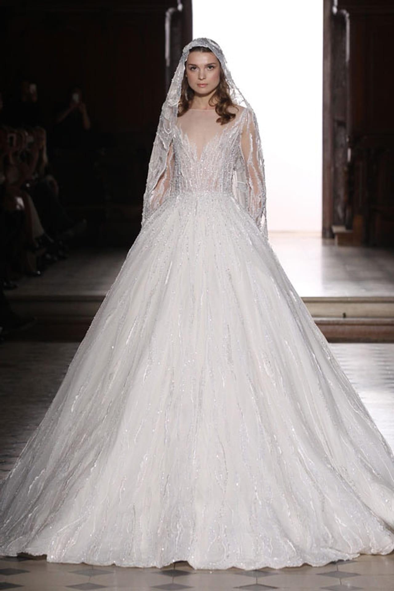 1c36f7e450fdf أجمل فساتين زفاف 2016 بتوقيع مصممين ازياء عرب