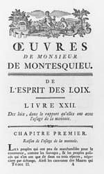 L'Esprit des Lois de Montesquieu : Résumé