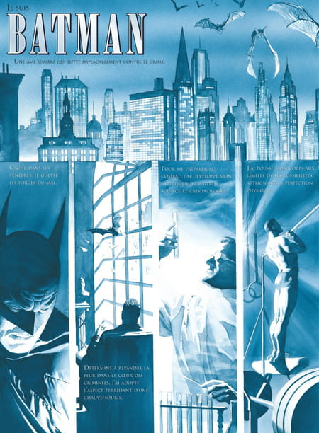 Justice League - Icônes extrait Batman Alex Ross