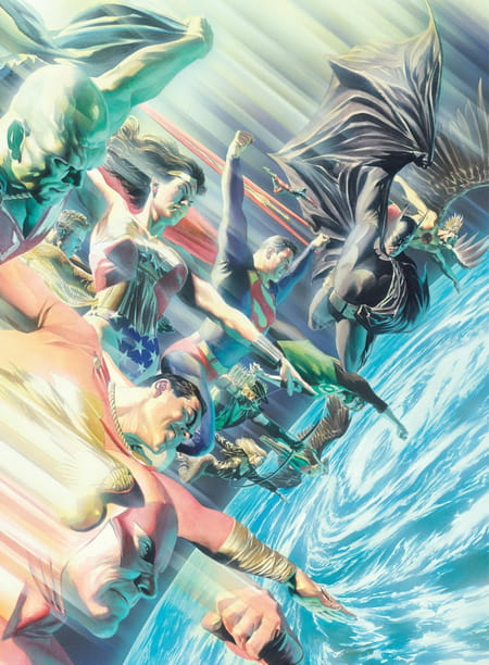 Justice League - Icônes extrait Alex Ross
