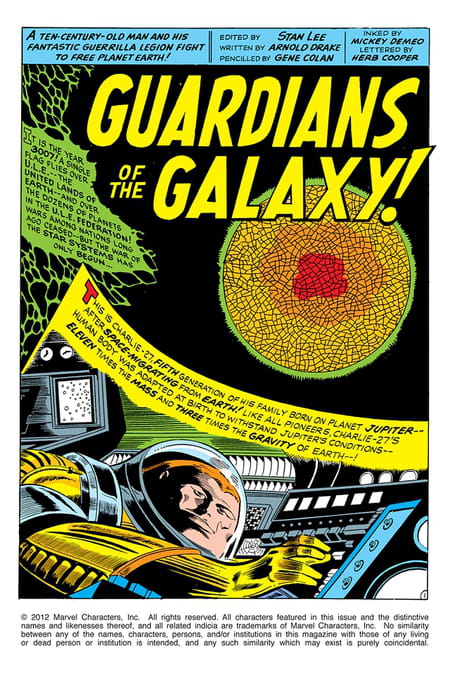 Nous sommes les Gardiens de la Galaxie