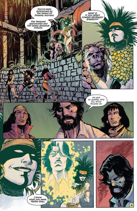Five Ghosts tome 2 monde perdu