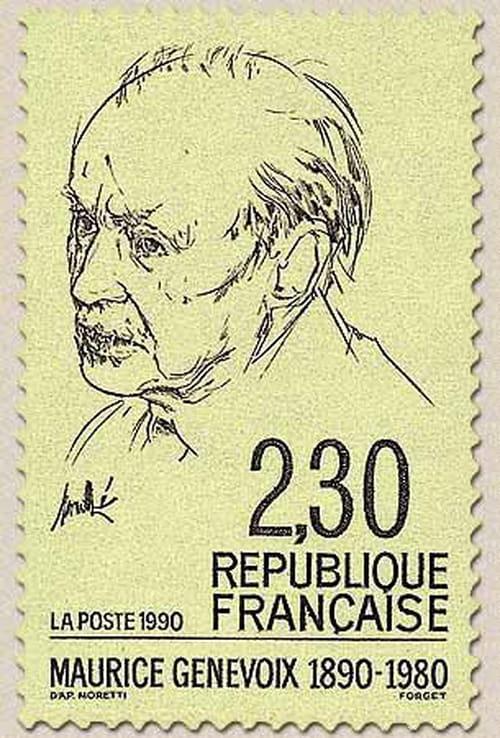 29 novembre 1890: Naissance de Maurice Genevoix