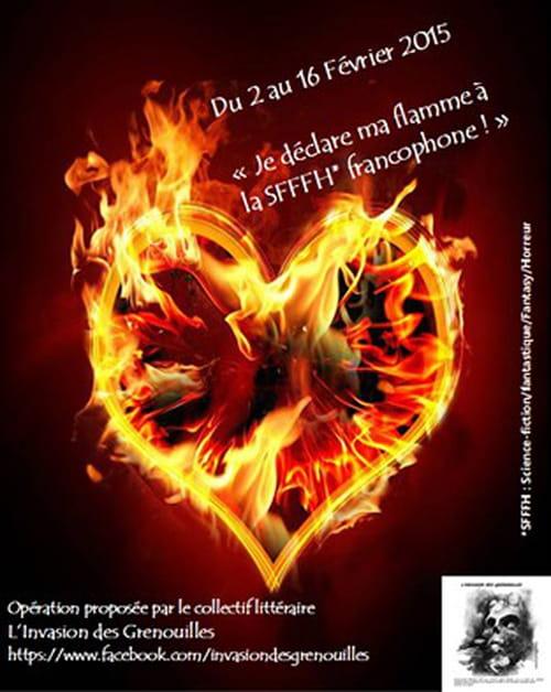 Je déclare ma flamme à la SFFFH francophone !