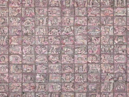 S.S.(NCF) et bouse rosâtre : art et société