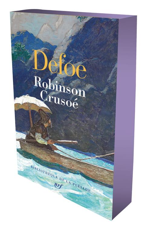 Robinson Crusoé illustré dans la Pléaide