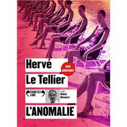 Robin Renucci lecteur de Hervé Le Tellier