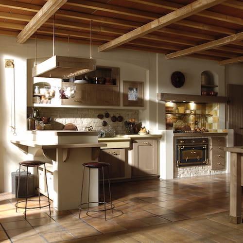 Cucina In Muratura La Tradizione Personalizzata - Cucina Incassata ...