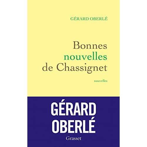Bonnes (excellentes !) nouvelles de Gérard Oberlé