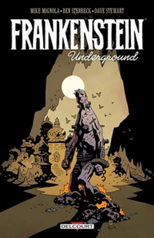 La créature de Frankenstein dans la Terre Creuse