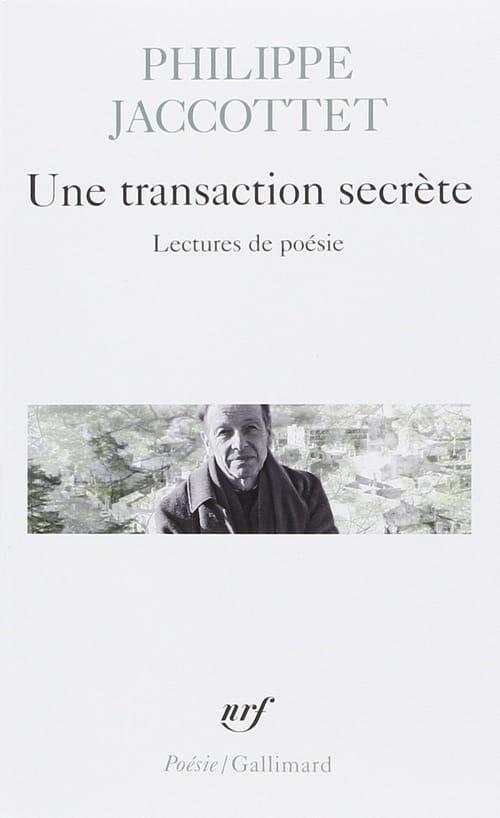 Philippe Jaccottet oscille entre chroniques et lectures par amour de la poésie