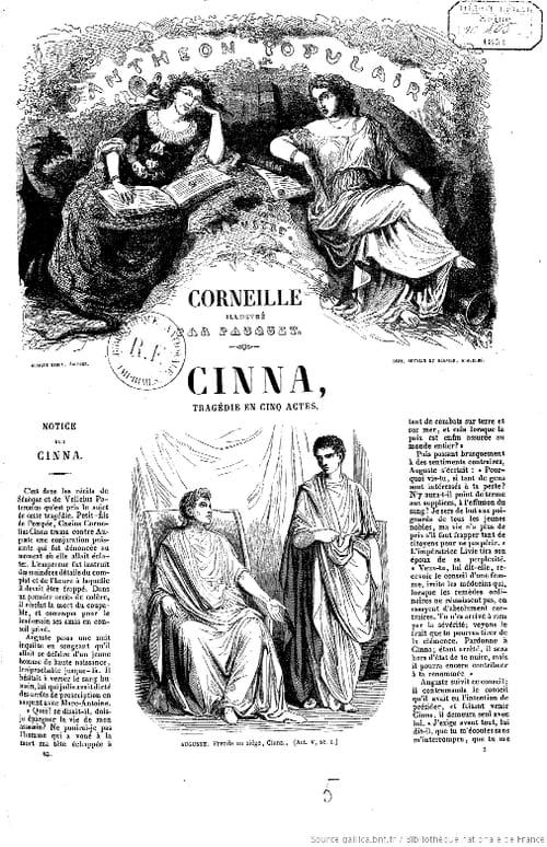 Cinna de Corneille : Résumé