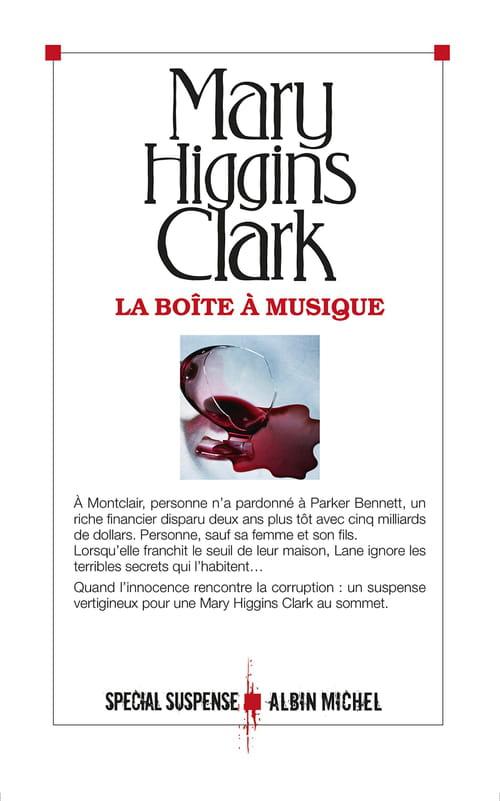 Mary Higgins Clark, La boîte à musique : Le portrait des rich and famous américains