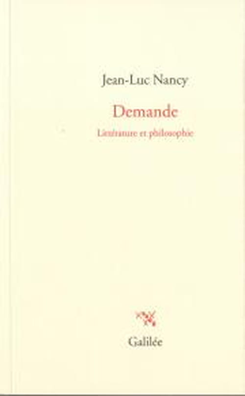 Jean-Luc Nancy : demande sans suite