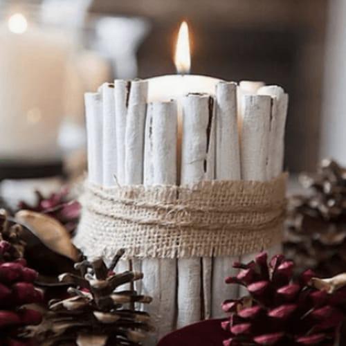 Centrotavola natalizio idee da pinterest con bacche - Centrotavola natalizio idee ...