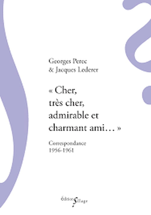 Georges Pérec et Lacques Lederer : pro mais pas trop