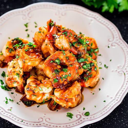 اخبار الامارات العاجلة 1287977 طريقة عمل الروبيان المقلي بالصويا والثوم وصفات شهية  وصفة مطبخ اطباق رئيسية اطباق بحرية أطباق رئيسية