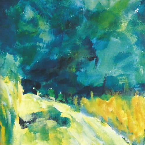 Dans le bruissement des jours : poèmes d'Annick Vigier, esquisses d'Élisabeth Langlade