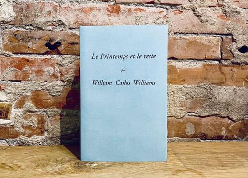 William Carlos Williams : Tout