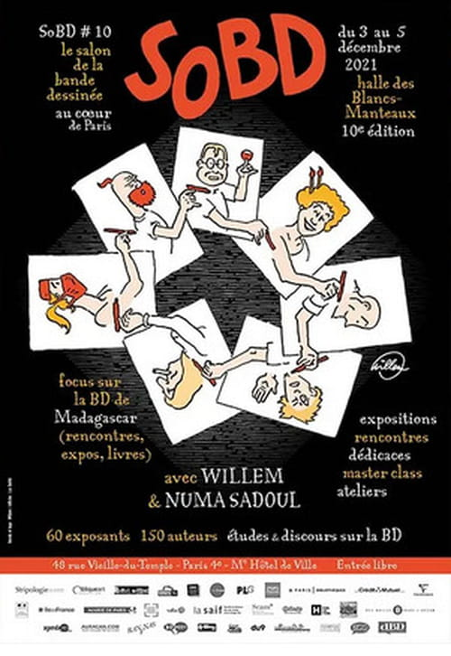 SoBD 2021, le salon de la BD au cœur de Paris