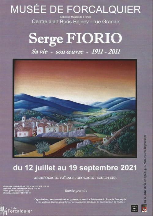 Serge Fiorio très bientôt au musée de Forcalquier