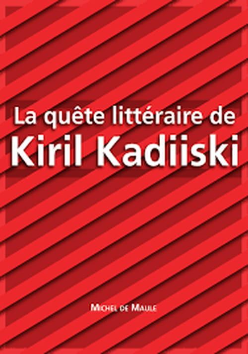 "Kiril Kadiiski :  ""L'espoir est la douleur de demain"""