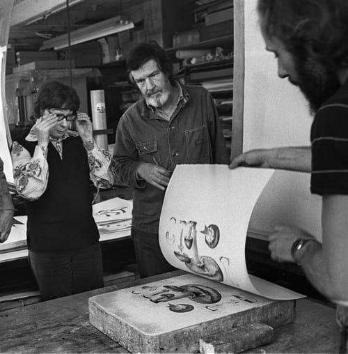 John Cage : palais des spores