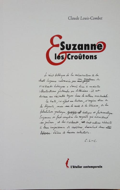 Suzanne et les croûtons, le carnaval des biroutes en déroute
