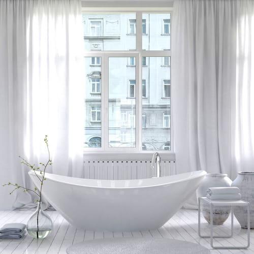 Tende per bagno vasca doccia e finestre impeccabili - Sesso in vasca da bagno ...