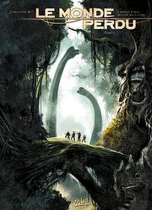 """Très belle adaptation BD du """"Monde perdu"""" de Conan Doyle"""
