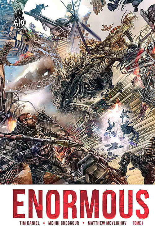Enormous, tome 1 : l'invasion