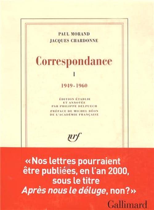 Chardonne & Morand, ci-devant des Lettres