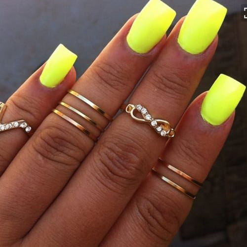 Top Unghie gel fluo: la nail art dell'estate 2016 HR52