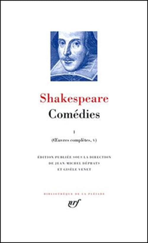 Les Comédies de Shakespeare entrent dans La Pléiade