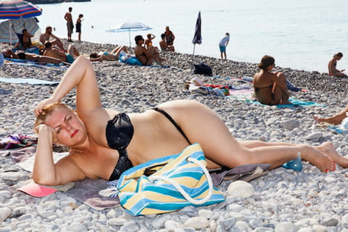 Martin Parr  on the Beach