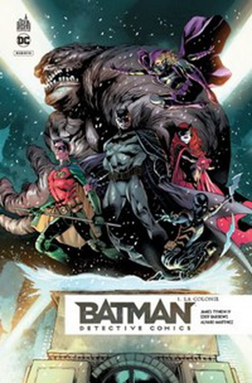Batman Detective comics, tome 1 – La Colonie