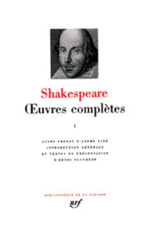 Shakespeare, les comédies dans la Pléiade