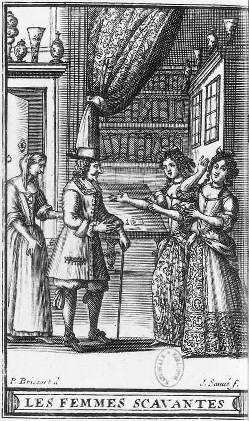 Les Femmes savantes de Molière : Résumé