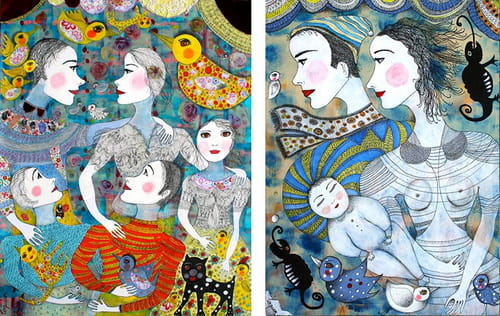Claudine Loquen et les princesses