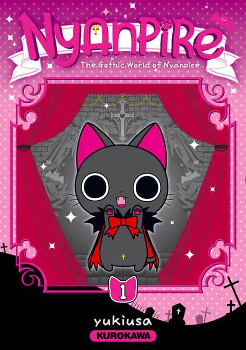 Nyanpire, chaton vampire : le monstre kawaii