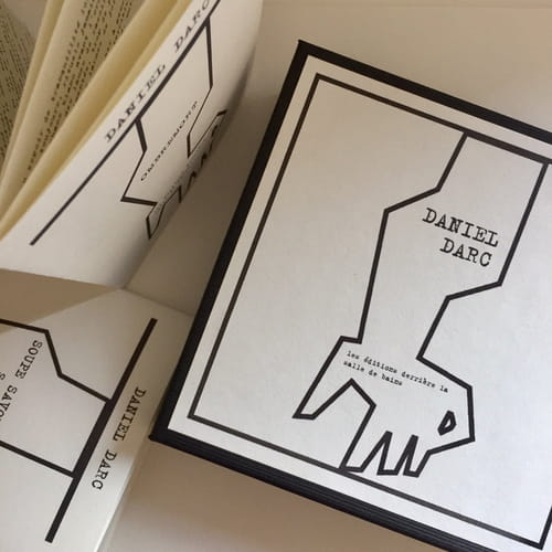 Daniel Darc : textes et images