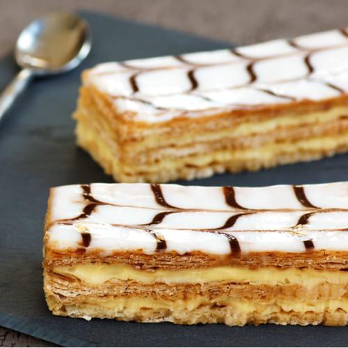 Ricetta torta millefoglie for Decorazione torte millefoglie